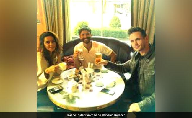 What's Keeping Shibani Dandekar And Farhan Akhtar Busy In London