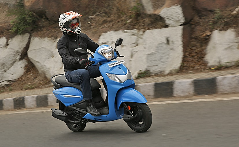 The new Hero Pleasure + is positioned as a unisex scooter and gets a 110 cc engine