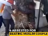 Video : On Video, Woman Among 3 Thrashed Over Beef Rumour In Madhya Pradesh