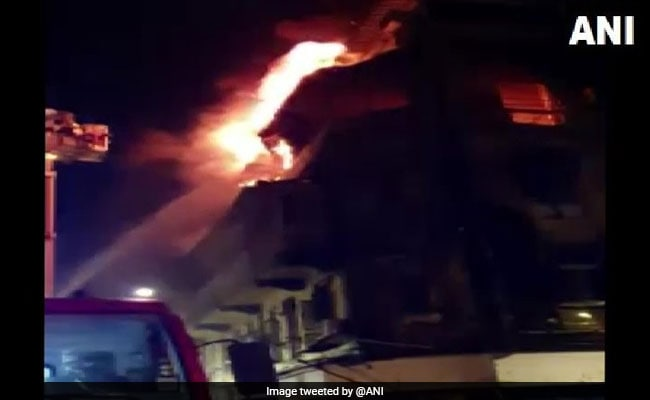 2 Dead After Fire Breaks Out In Bhendi Bazaar Building In Mumbai