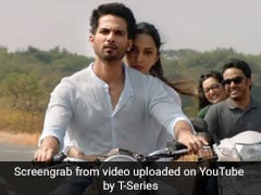 Kabir Singh Song Tujhe Kitna Chahne Lage Is All About Shahid