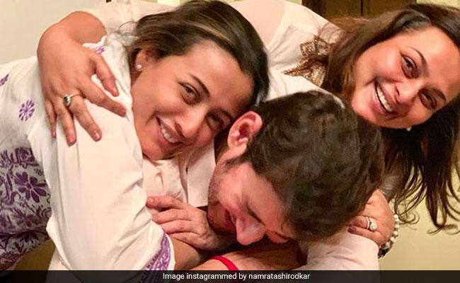 Mahesh Babu Is All Smiles As He Celebrates Maharshi Success. Pic Courtesy Namrata Shirodkar