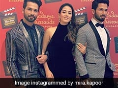 Mira Rajput's Reaction To Shahid Kapoor In Wax Is Priceless