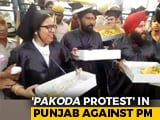 Video : Pakoda Sellers In Graduation Robes Detained Before PM's Chandigarh Rally