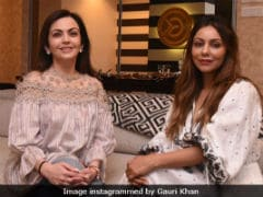 Gauri Khan's Rendezvous With Nita Ambani And Her Latest Project
