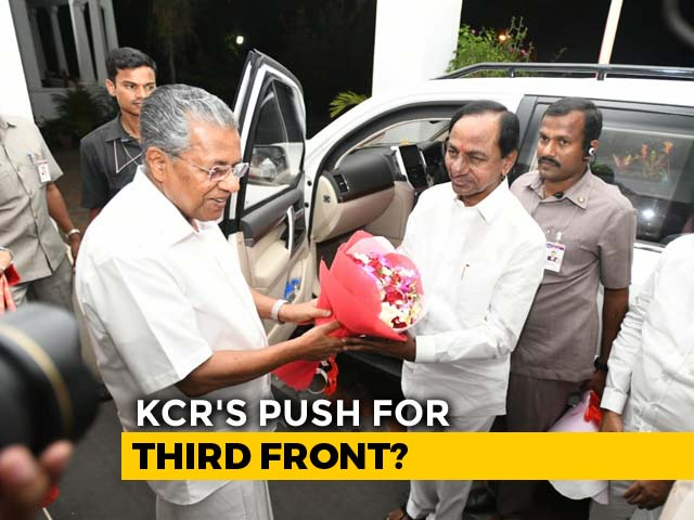 "Video : As KCR Launches ""Third Front"" Meetings, Stalin Says ""Busy"" With Campaign"