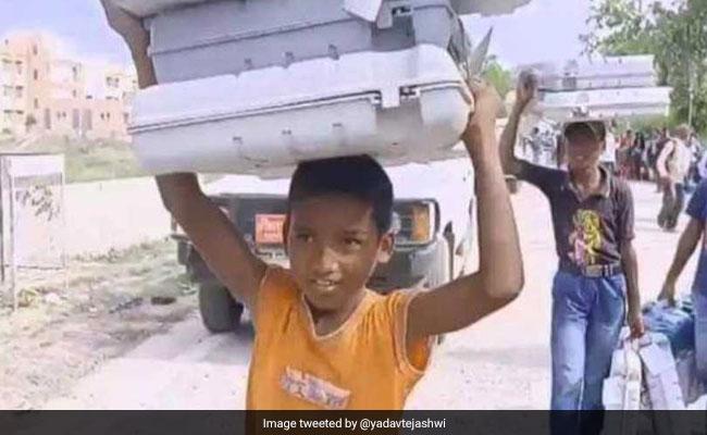 Lok Sabha Polls: 'EVMs Transported By Child Labour': Tejashwi Yadav Attacks Poll Body