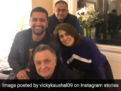 'Can't Beat Rishi Kapoor's Josh': Vicky Kaushal Tells Us From New York