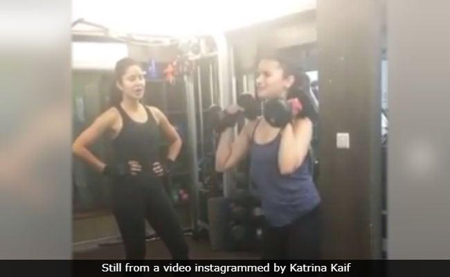 Alia Bhatt And I Used To Train Together A Lot: Katrina Kaif