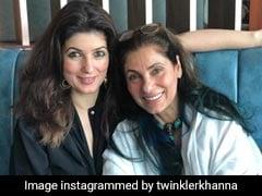 Twinkle Khanna Congratulates Dimple Kapadia On Joining Christopher Nolan's <i>Tenet</i>