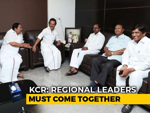 Video : KCR Doesn't Rule Out Backing Congress In Case Of Split Verdict: Sources