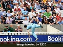 Watch: Ben Stokes Takes Spectacular Catch In England vs South Africa World Cup Opener