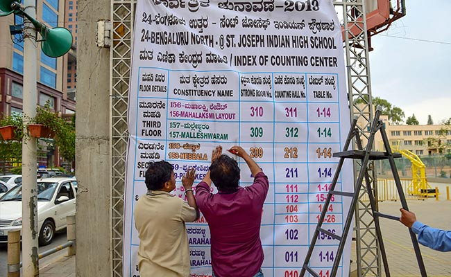 4-Tier Security For Counting At All 28 Polling Centres In Karnataka