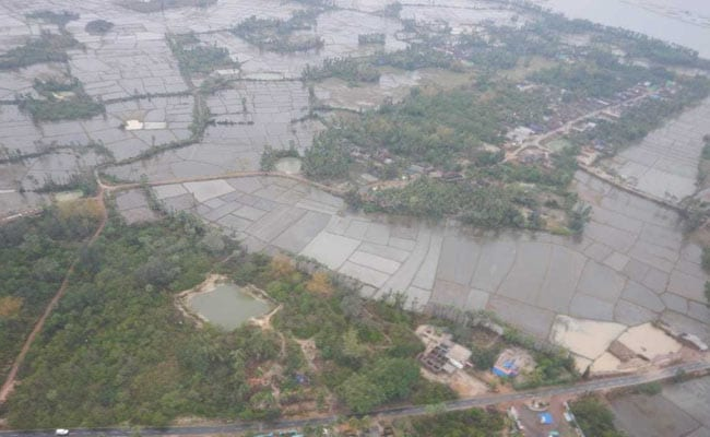 Navy's Aerial Photos Show Massive Damage Due To Cyclone Fani In Puri