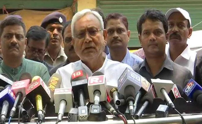 Nitish Kumar's 'Delusional' Jibe For BJP After Cabinet Disappointment