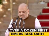 Video : Amit Shah Among A Dozen 1st Timers In PM Modi's New Council Of Ministers