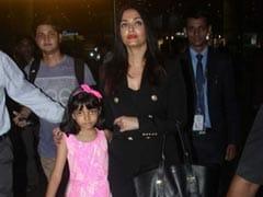 Cannes Done, Aishwarya Rai Bachchan And Aaradhya Fly Home To Mumbai. See Pics