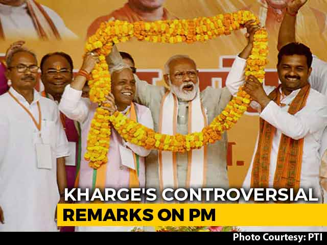 Video : Stung By PM's Poll Prediction, Mallikarjun Kharge Hits Back; Triggers Row