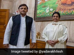 "Prepping For ""Next Step"", Says Akhilesh Yadav After Meeting Mayawati"