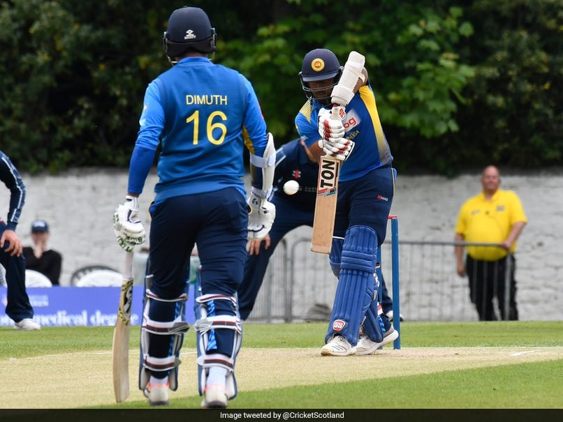 Scotland vs Sri Lanka, 2nd ODI: Captain Dimuth Karunaratne Helps Sri Lanka Snap 8-Match Losing Streak With Scotland Win