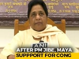 "Video : On PM's Congress-Samajwadi ""Games"" Allegations, Mayawati's Unity Message"
