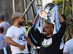 Treble Winners Manchester City Enjoy Parade