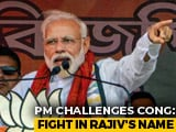 """Video: PM Doubles Down On Rajiv Gandhi Attack With Challenge For """"Dynast Family"""""""