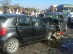 मुंबई-अहमदाबाद हाईवे पर भीषण सड़क हादसा, छह लोगों की मौत