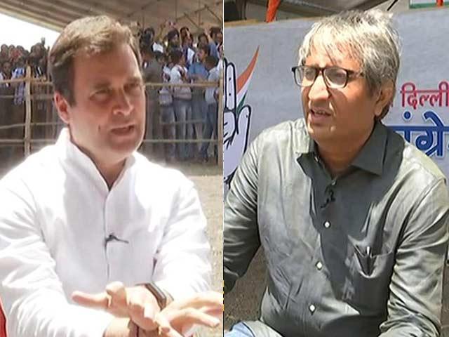 Exclusive: रवीश कुमार से बोले राहुल गांधी- नरेंद्र मोदी नफरत से भरे हैं