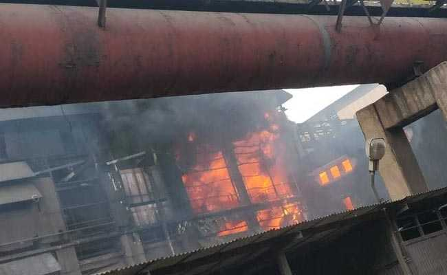 Major Fire Breaks Out At Bhilai Steel Plant, No Casualties Reported