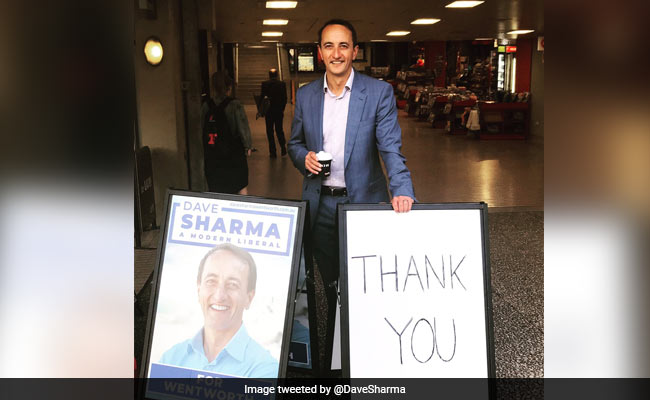 Dave Sharma Becomes First Indian-Origin Man To Win In Australian Election
