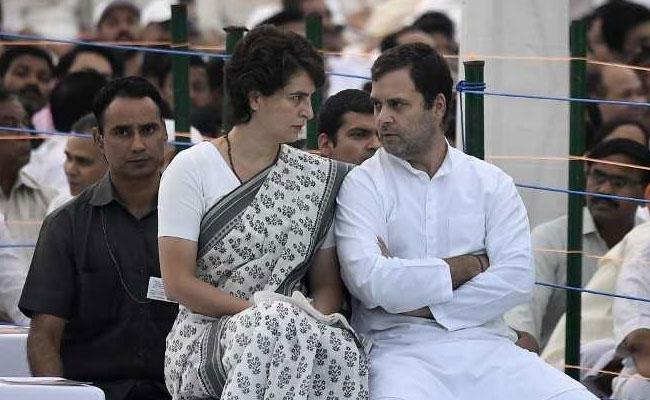 """Howdy Economy Doin', Mr Modi?"": Rahul Gandhi, Sister Priyanka Target PM"