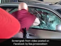 US Cop Defends Officer Seen On Video Bashing Car Window To Drag Man