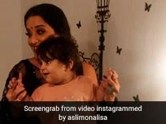 Bhojpuri Cinema: मोनालिसा ने बच्चे संग किया धमाकेदार डांस तो फैंस ने कहा सुपर क्यूट, देखें Video