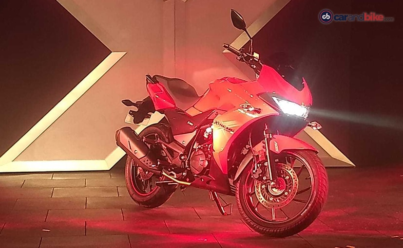 The Hero Xtreme 200S shares its underpinnings with the Xtreme 200R