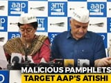 Video : Atishi Breaks Down Over Offensive Pamphlet, AAP Blames Gautam Gambhir