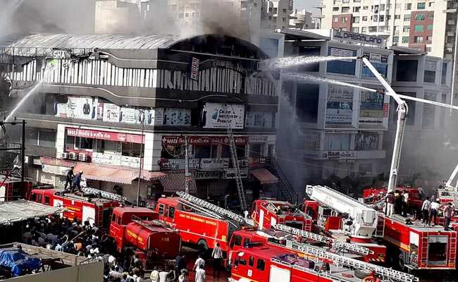 Tyres For Seats In Surat Coaching Centre Made Fire Spread Fast: Official
