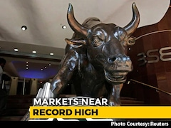 Video: Sensex Jumps Over 250 Points To Cross 40,000 Mark