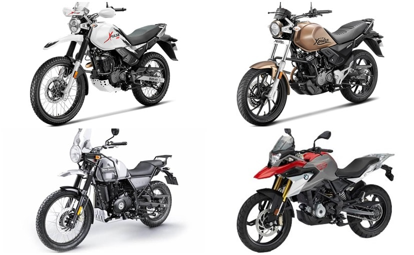 Hero Xpulse 200 And Xpulse 200t Vs Royal Enfield Himalayan Vs Bmw G