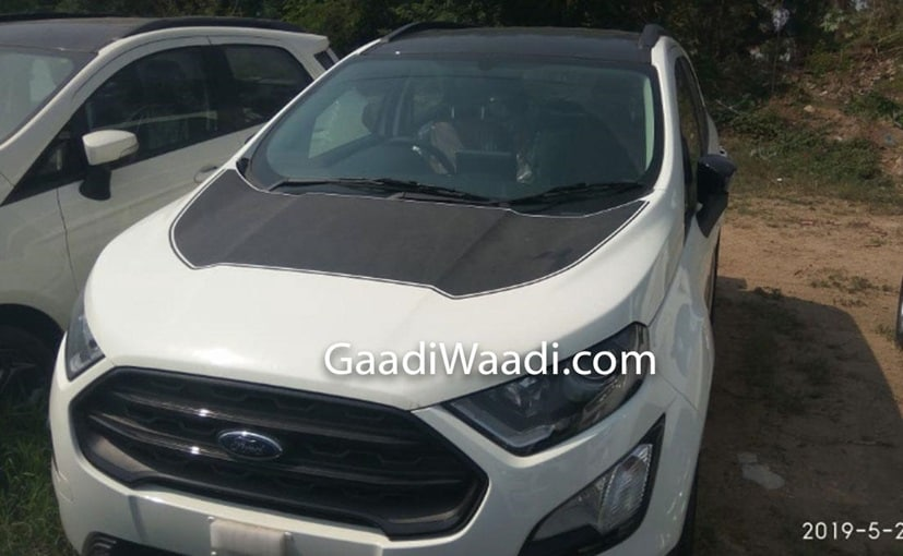 The new Ford EcoSport Thunder edition will be based on the Titanium variant of the SUV