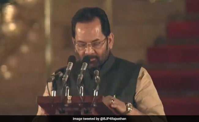 Mukhtar Abbas Naqvi: The Only Muslim Minister In PM Modi's Cabinet