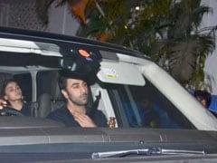 Alia Bhatt And Ranbir Kapoor Made It A Tuesday To Remember At Karan Johar's