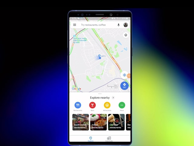 Video : How To Share Your Live Location With Someone Using Google Maps