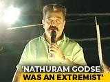 "Video : ""Nathuram Godse, A Hindu, Independent India's 1st Extremist"": Kamal Haasan"