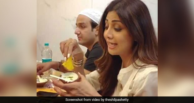 Watch: Shilpa Shetty Slips Into 'Food Coma' While Eating Malpua With Rabri