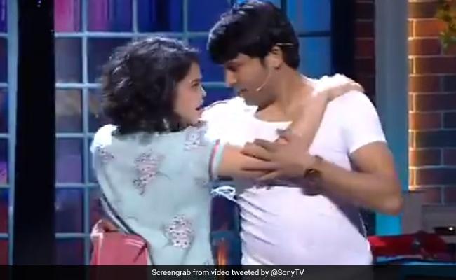 कपिल शर्मा के शो में 'भूरी' और 'चंदू' कर रहे थे रोमांस तभी हुआ कुछ ऐसा... देखें Video