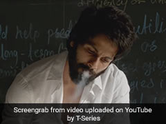 <I>Kabir Singh</i>: Shahid Kapoor Explains Smoking And Drinking Scenes In Film
