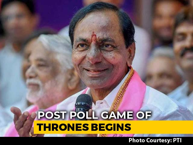 Video : Federal Front Push? KCR To Meet Pinarayi Vijayan, Stalin, HD Kumaraswamy