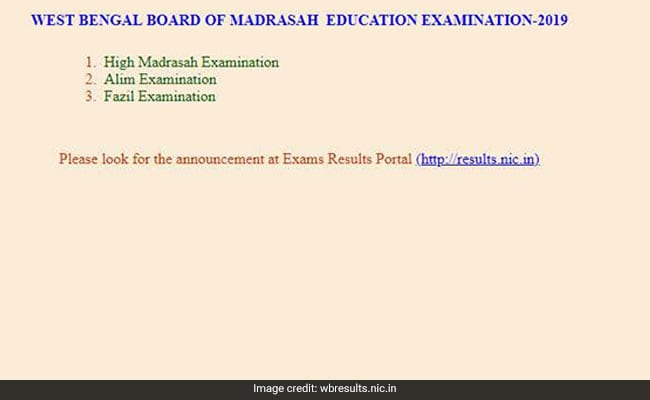 WBBM, WBBME result, WBBME result 2019, West Bengal Madrasah results, WB Madrasah results, wbbme.org, wbresults.nic.in, exametc.com