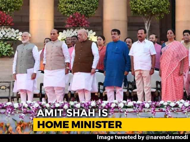 Video : Big 4 Announced: Home Minister Amit Shah, Nirmala Sitharaman Gets Finance